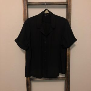 Banana Republic Blouse  in Black